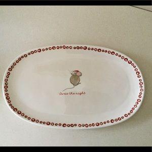 Adorable Large Christmas Serving Platter